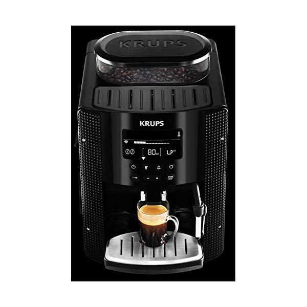 machine-cafe-Automatique-Essential-Krups-YY8135FD-test